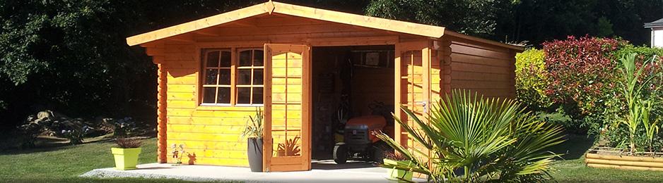 A Guingamp fabrication et pose d\'abris de jardin, carport ...