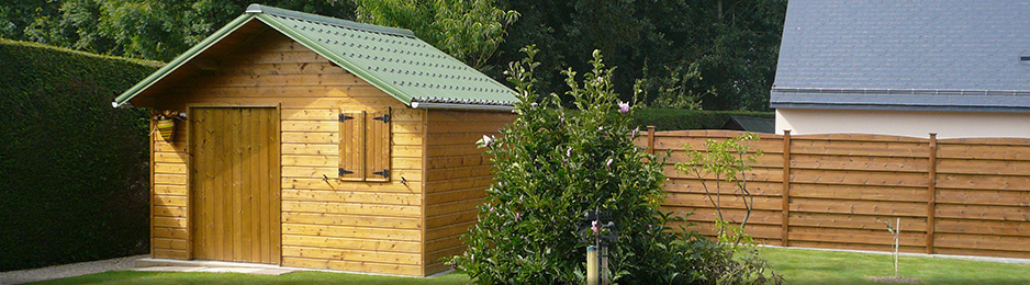 A Guingamp fabrication et pose d\'abris de jardin, carport, préau ...